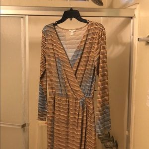 Bar III wrap dress